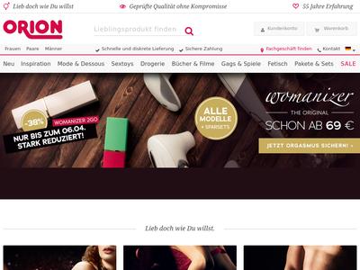 Bildschirmfoto für ORION