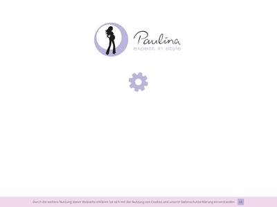 Bildschirmfoto für paulina-umstandsmode.de