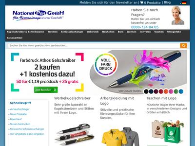 Bildschirmfoto für Pens Europe