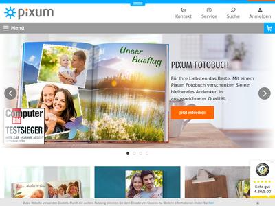 Bildschirmfoto für pixum