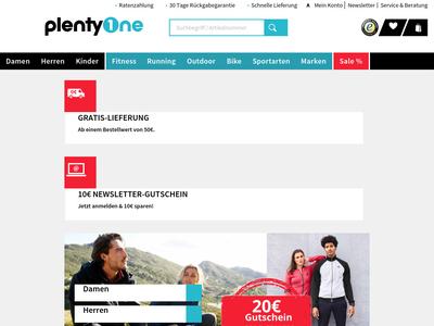 Bildschirmfoto für PlentyOne