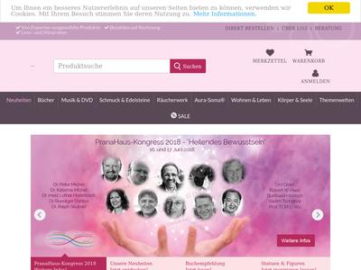 Bildschirmfoto für PranaHaus