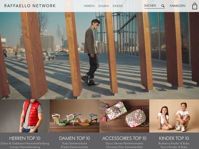 Bildschirmfoto für Raffaello Network