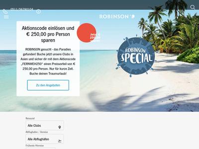 Bildschirmfoto für Robinson
