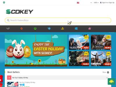 Bildschirmfoto für SCDKey