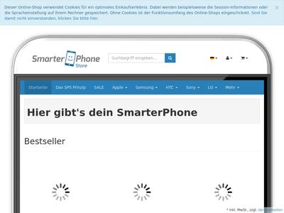Bildschirmfoto für SmarterPhoneStore