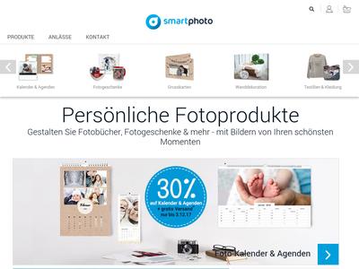 Bildschirmfoto für smartphoto Fotobuch