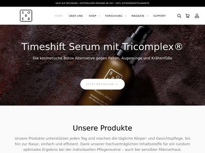 Bildschirmfoto für soberberlin.com