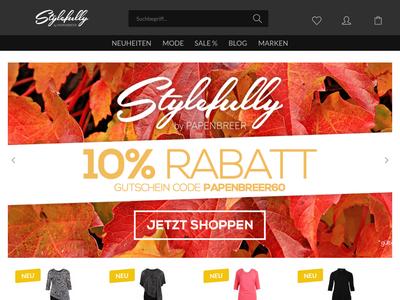 Bildschirmfoto für stylefully.de