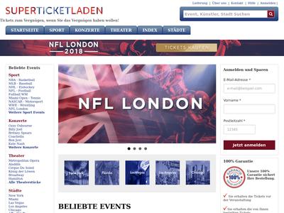 Bildschirmfoto für SuperTicketLaden