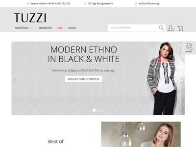 Bildschirmfoto für TUZZI