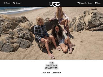 Bildschirmfoto für ugg.com