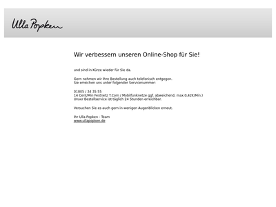 Bildschirmfoto für Ulla Popken
