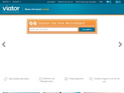 Bildschirmfoto für Viator