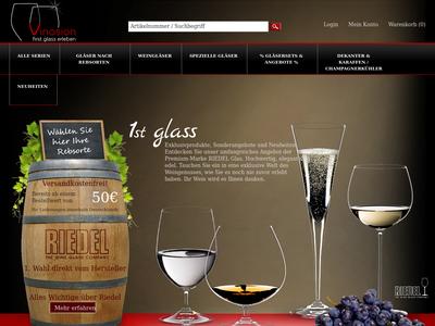 Bildschirmfoto für Vinosion.de