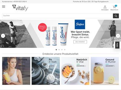 Bildschirmfoto für vitafy