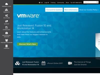 Bildschirmfoto für VMware