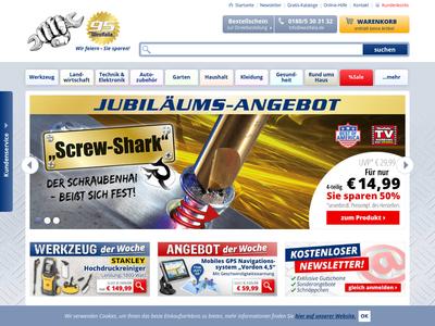 Bildschirmfoto für Westfalia