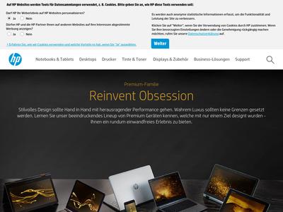 Bildschirmfoto für HP
