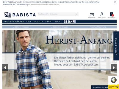 Bildschirmfoto für Babista