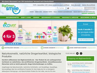 Bildschirmfoto für Big Green Smile
