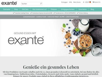 Bildschirmfoto für Exante Diet