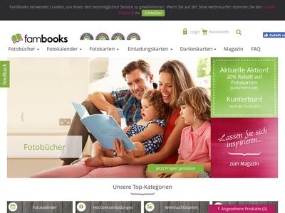 Bildschirmfoto für FamBook