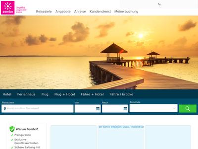 Bildschirmfoto für Feride Reisen