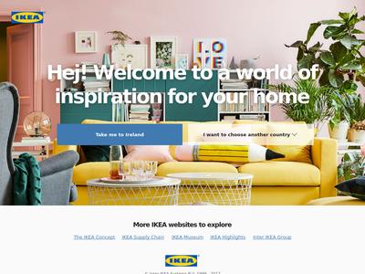 Bildschirmfoto für IKEA