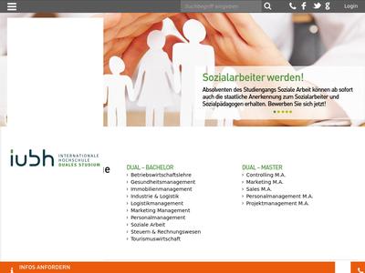 Bildschirmfoto für IUBH Duales Studium