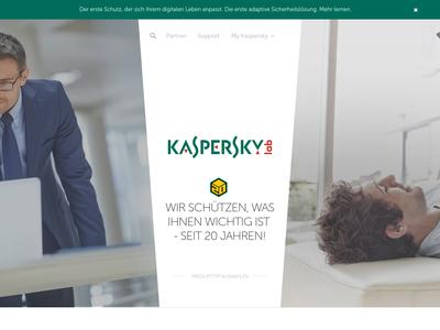 Bildschirmfoto für Kaspersky Lab