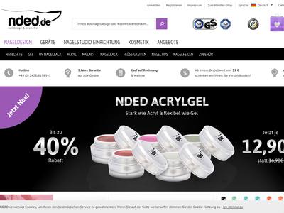 Bildschirmfoto für nded.de