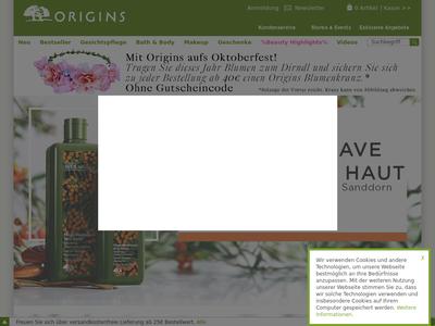 Bildschirmfoto für Origins