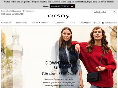 Bildschirmfoto für ORSAY