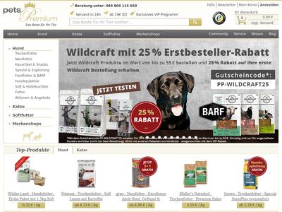 Bildschirmfoto für pets Premium