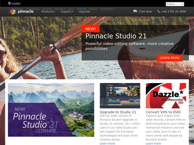 Bildschirmfoto für Pinnacle Studio