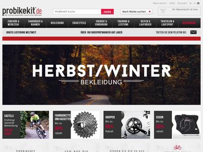 Bildschirmfoto für ProBikeKit