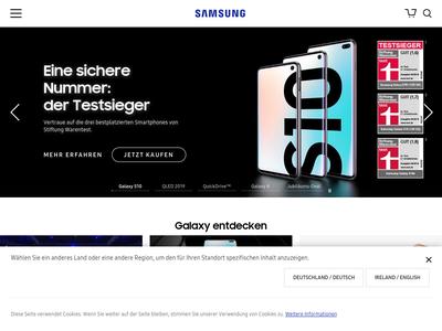 Bildschirmfoto für Samsung