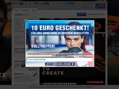 Bildschirmfoto für sc24.com