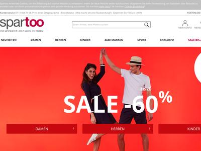 Bildschirmfoto für Spartoo