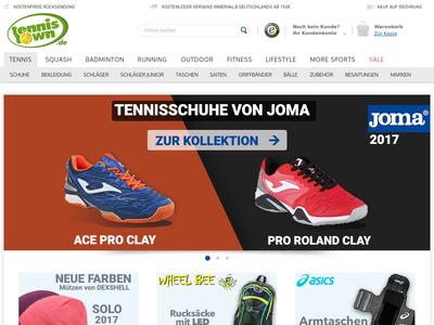 Bildschirmfoto für Tennistown