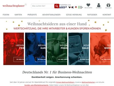 Bildschirmfoto für weihnachtsplaner.de