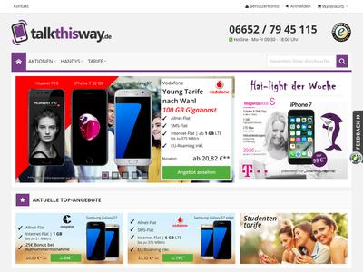 Bildschirmfoto für TalkThisWay