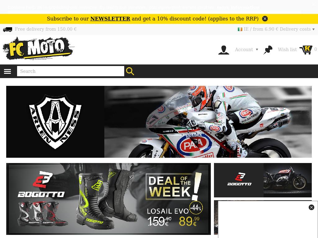 Bildschirmfoto für FC-Moto